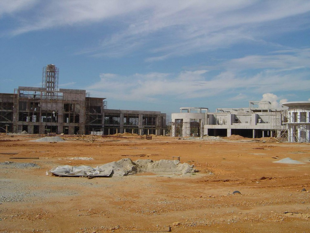 4 Dec 2004 Construction of UNMC, Semenyih