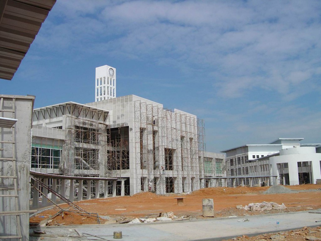 5 April 2005 Construction of UNMC, Semenyih