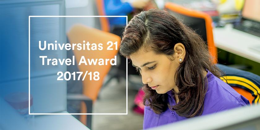 Universitas 21 Travel Award 2017/18