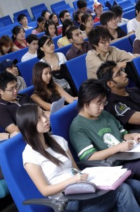 Group of students in lecture